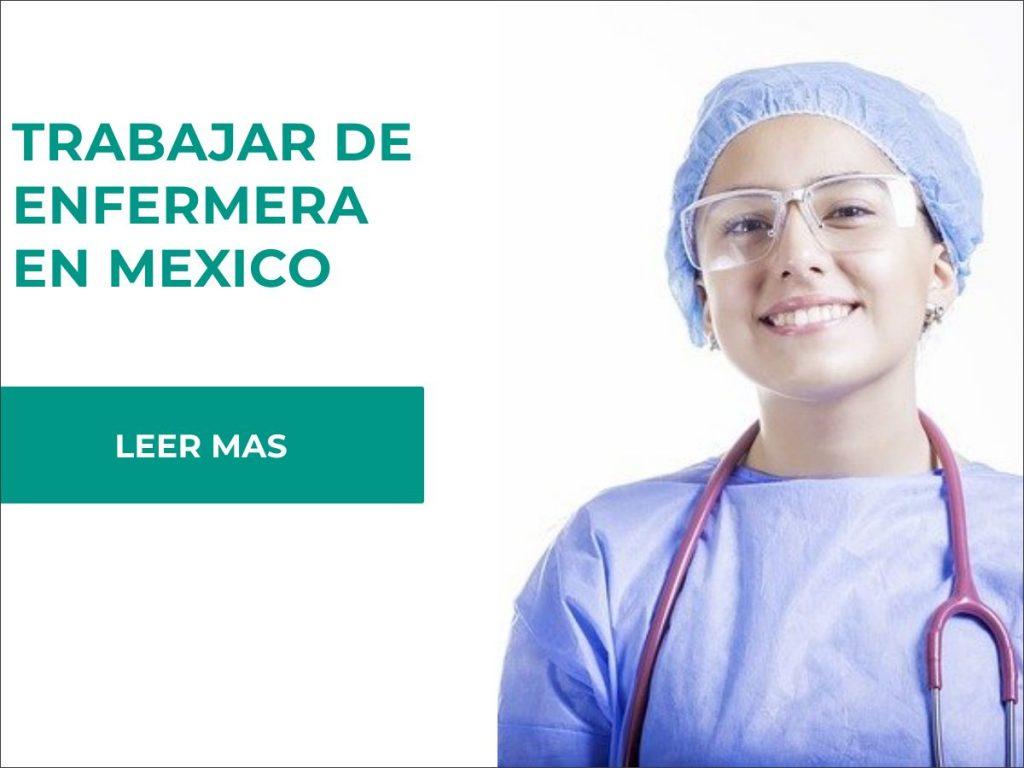 requisitos para ser enfermera en mexico