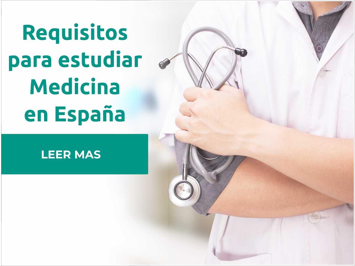 Requisitos para estudiar medicina en España