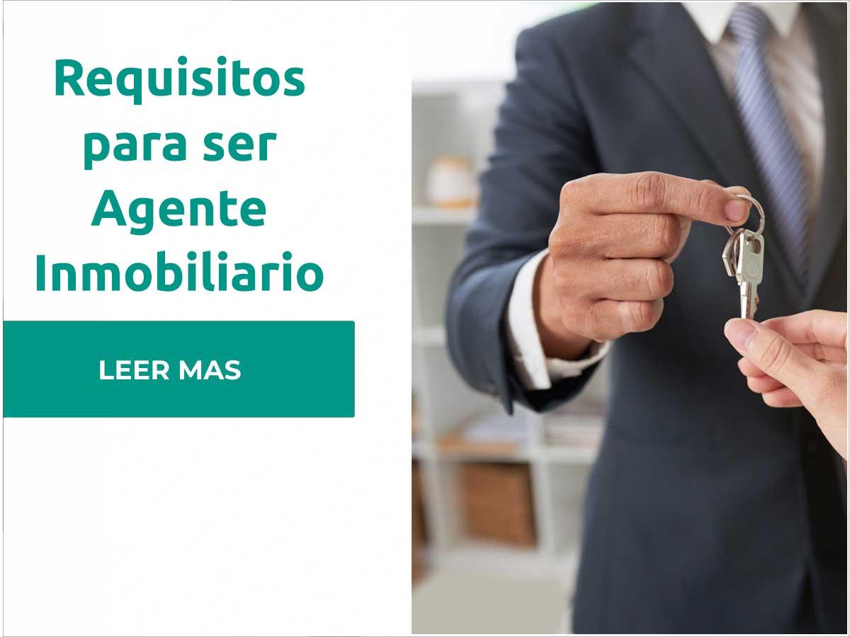Requisitos para ser agente inmobiliario