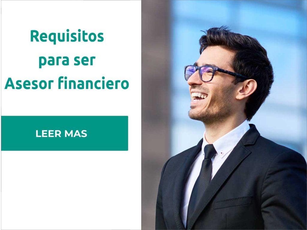 requisitos para ser asesor financiero