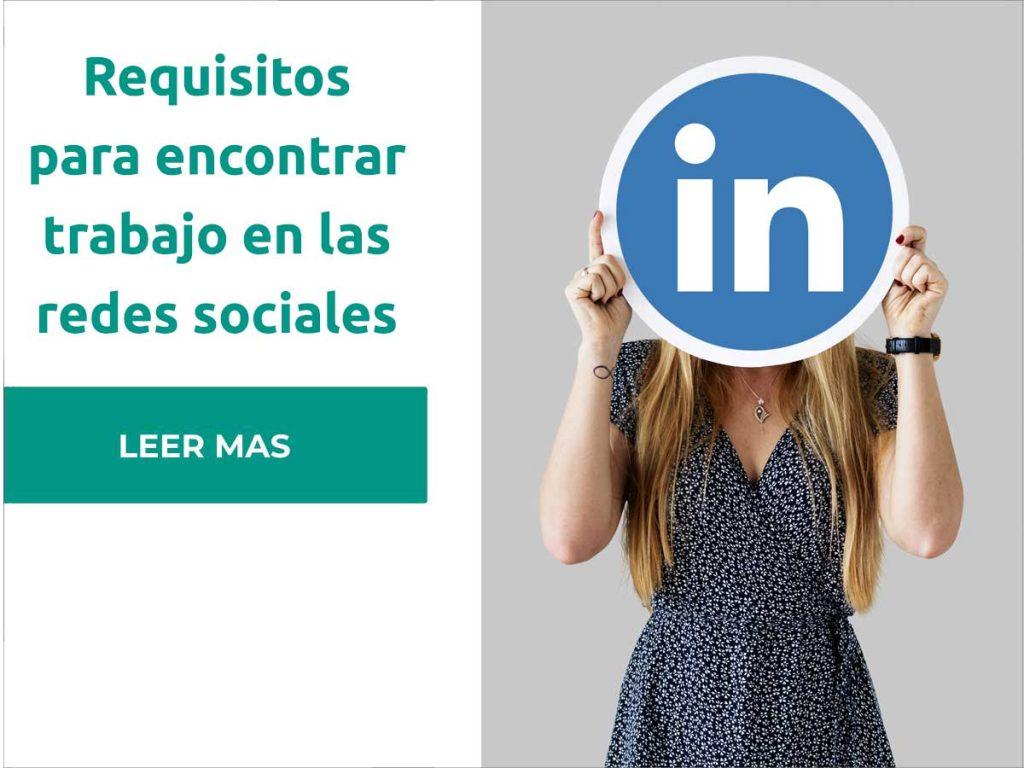como encontrar trabajo en redes sociales