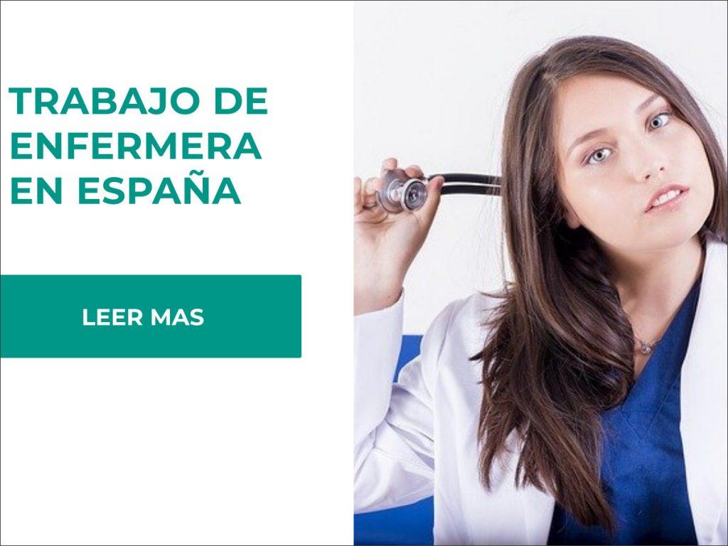 requisitos para ser enfermera en españa