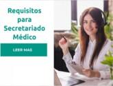 Requisitos para Secretariado Medico