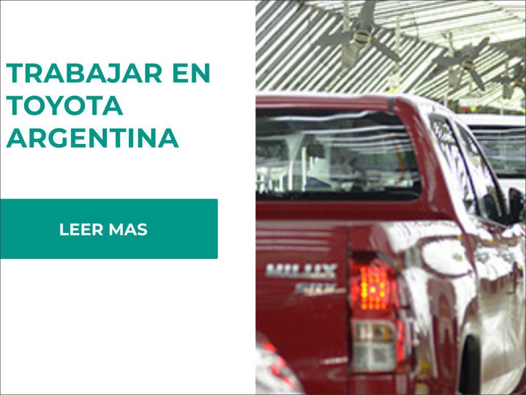 requisitos para trabajar en toyota argentina