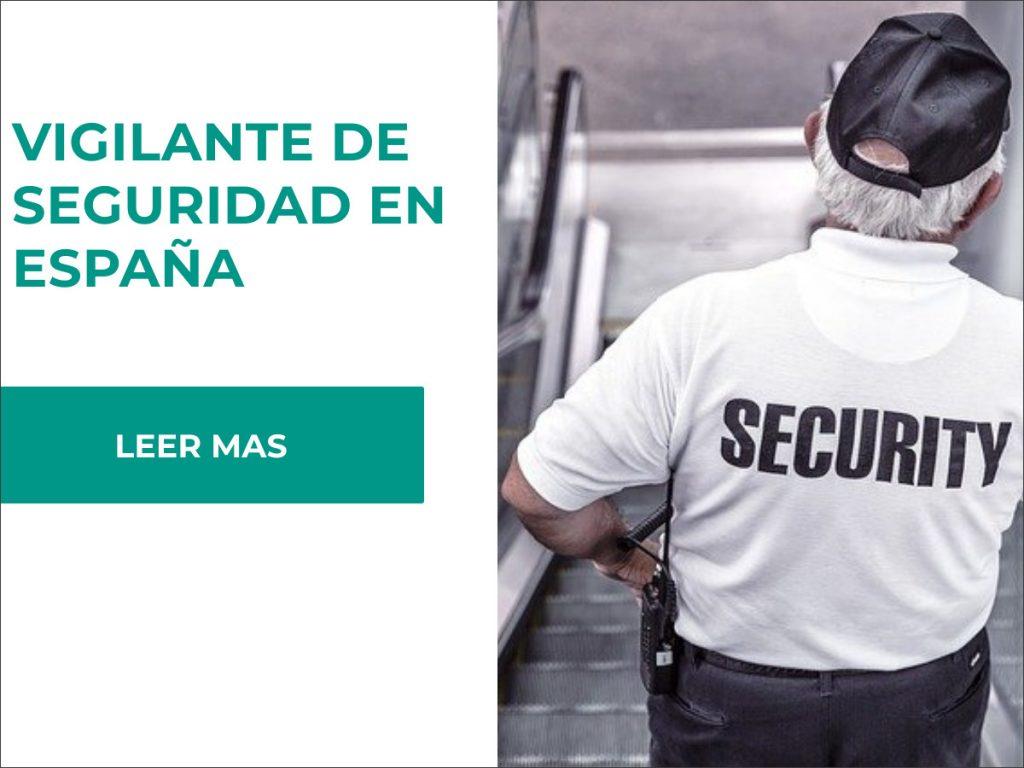 requisitos para ser vigilante de seguridad privado en españa