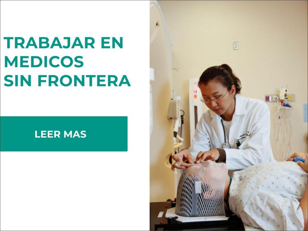 requisitos para trabajar en medicos sin fronteras y sueldos