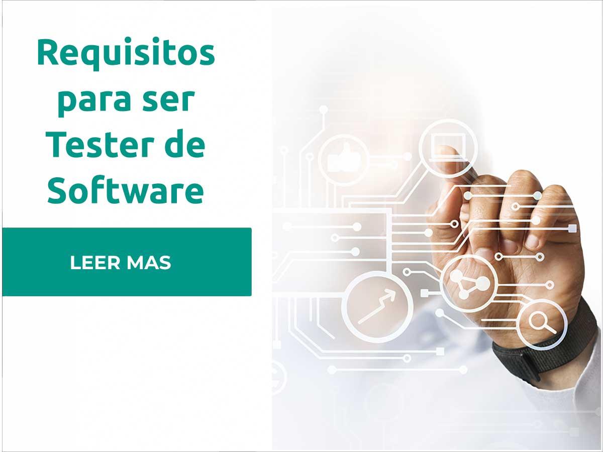 Requisitos tester de software