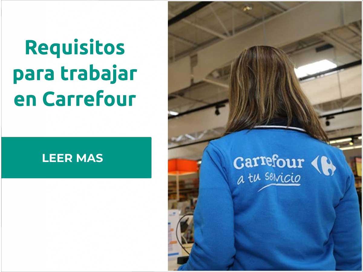 Requisitos para trabajar en Carrefour