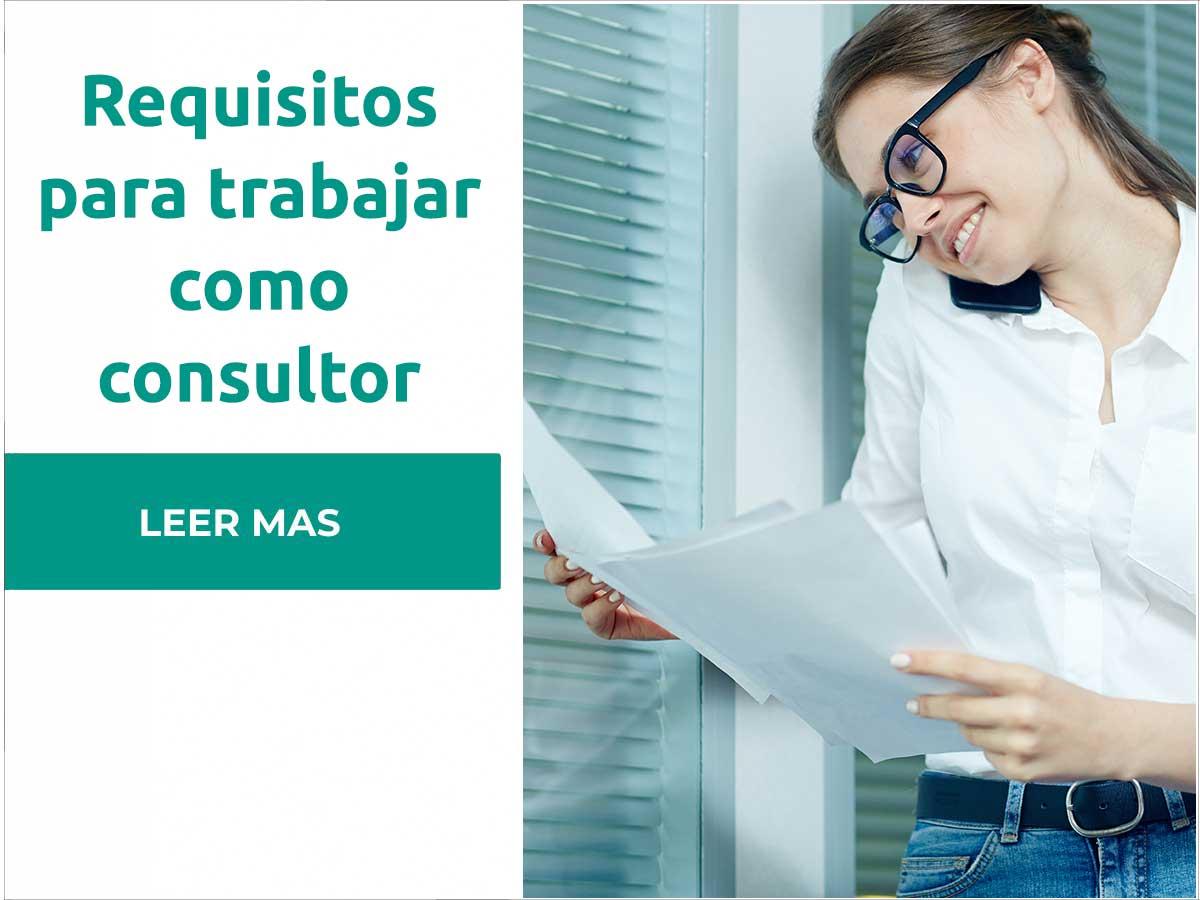 Requisitos para ser consultor