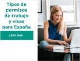 Tipos de permisos de trabajo y visas para España