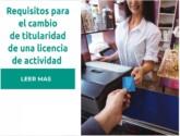 Cambio de titularidad de una licencia de actividad en España