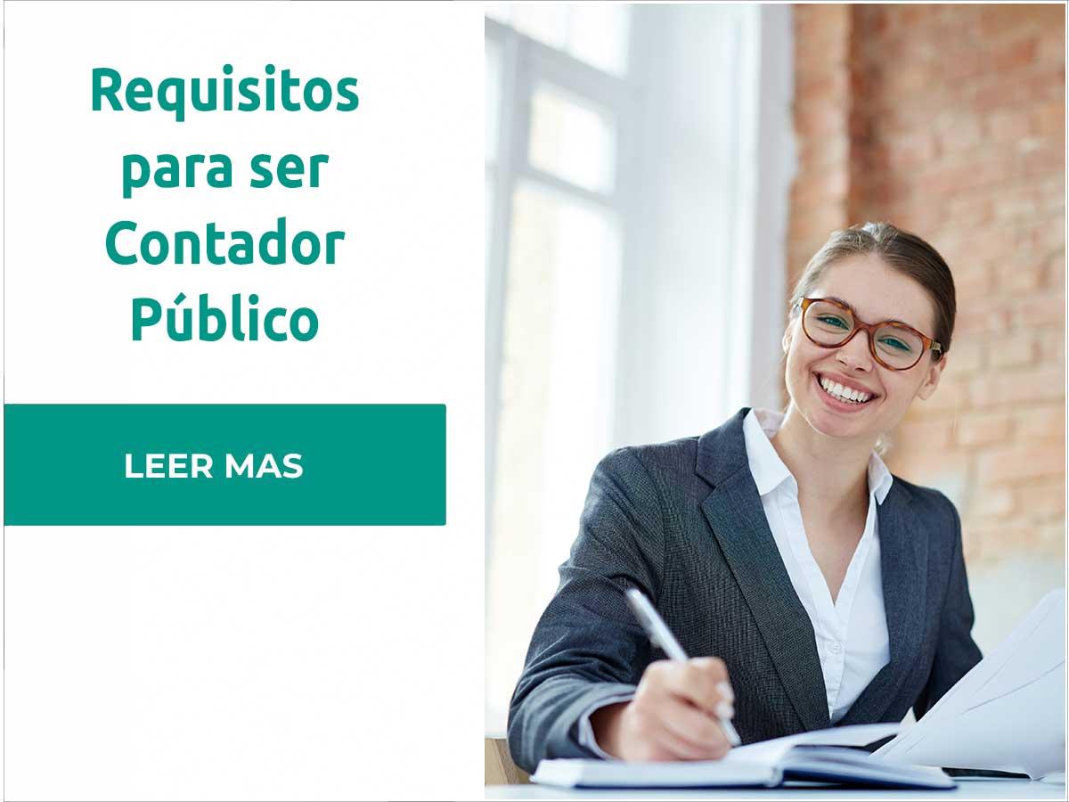 Requisitos para ser Contador Público
