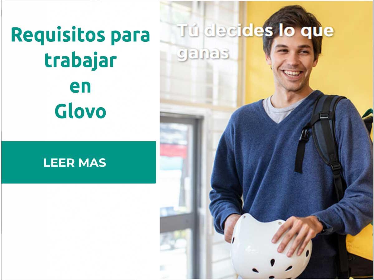Requisitos para trabajar en Glovo