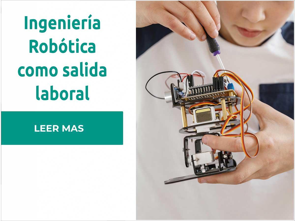 Requisitos para trabajar en Ingeniería Robótica