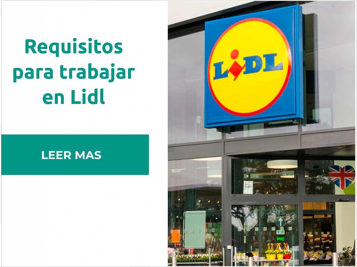 Requisitos para trabajar en Lidl