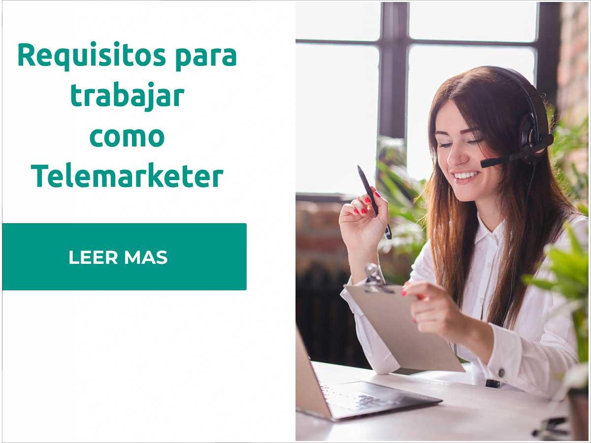 Requisitos para trabajar como telemarketer