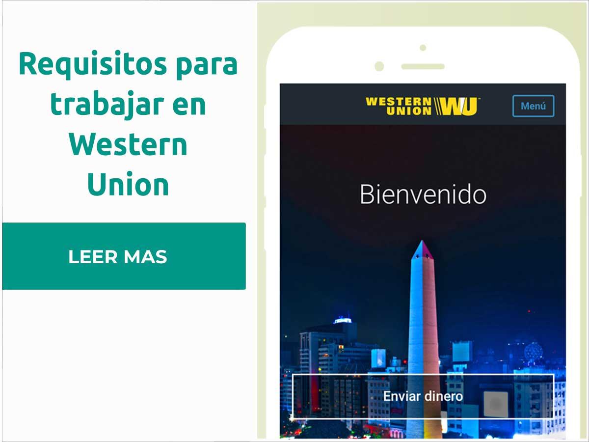 Requisitos para trabajar en Western Union