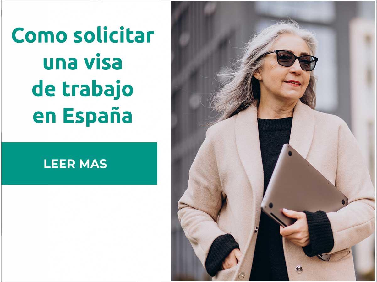 Como solicitar una visa de trabajo en España