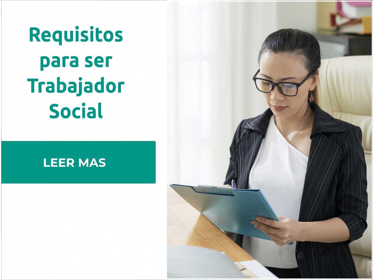 Requisitos para ser Trabajador Social