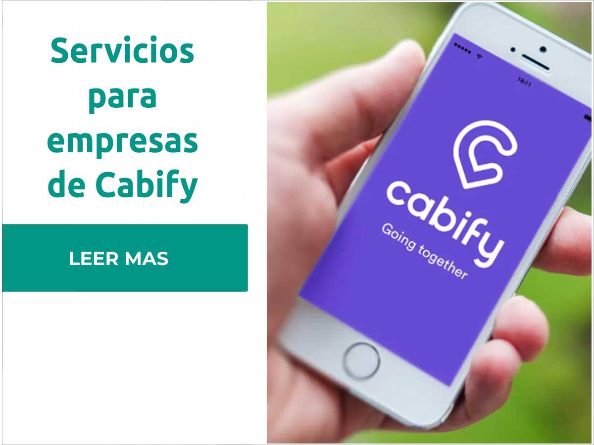Servicios de Cabify para empresas