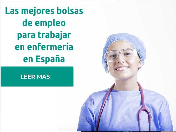 Bolsa de empleo para enfermeria