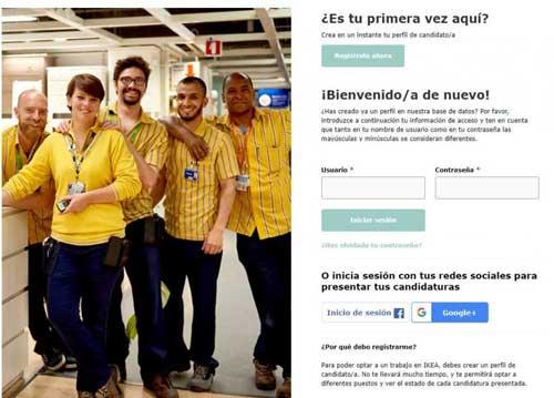 Completa tu perfil en IKEA