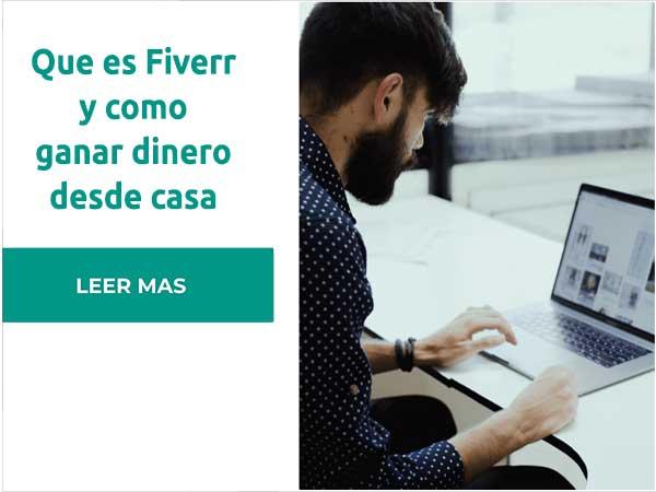 Requisitos para registrarse en Fiverr