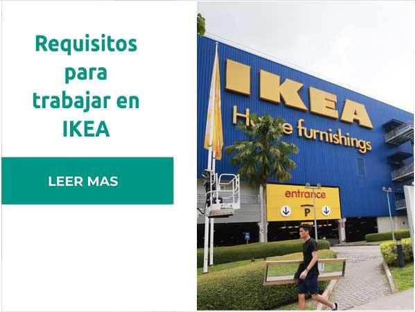 Requisitos para trabajar en IKEA