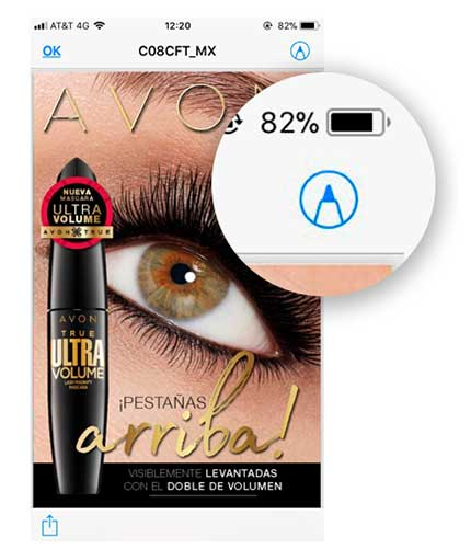 Enviar catalogo de Avon por Whatsapp - Paso 3