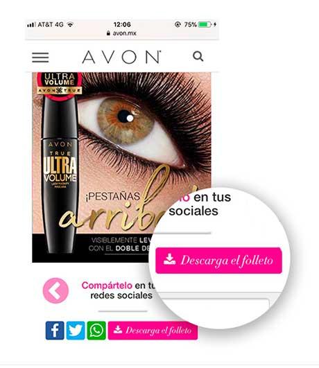 Enviar catalogo de Avon por Whatsapp - Primer Paso