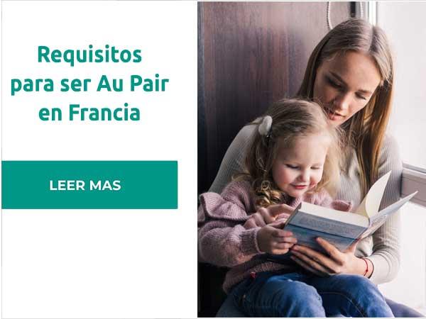 Requisitos para ser Au Pair en Francia