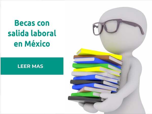 Becas con salida laboral en México