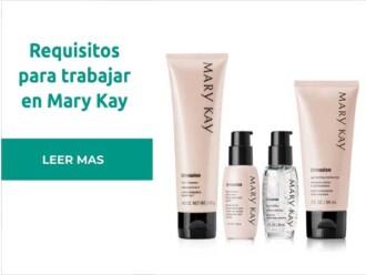 Requisitos para vender productos Mary Kay