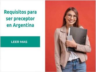 Requisitos para ser preceptor en Argentina