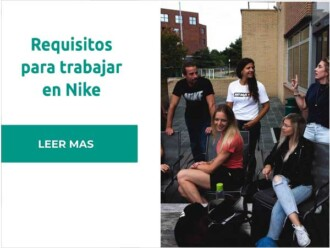Requisitos para trabajar en Nike