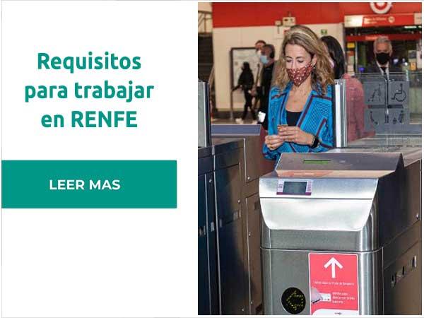 Requisitos para trabajar en RENFE