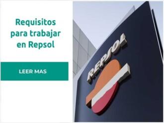 Requisitos necesarios para trabajar en Repsol