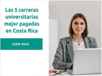 Carreras mejor pagadas en Costa Rica