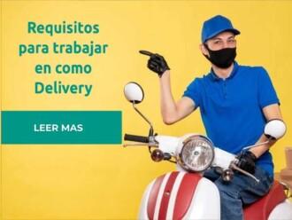 requisitos trabajar delivery