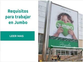 Requisitos para trabajar en Jumbo – Cencosud