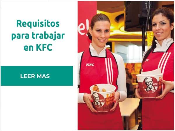 Requisitos para trabajar en KFC